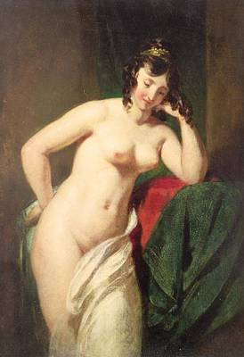 Rap Painting - Nude by William Etty