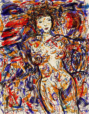 Painting - Nude Woman by Natalie Holland