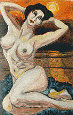 Painting - Nudo, Outdoors by Biagio Civale
