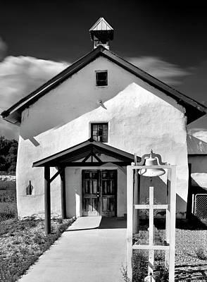 Dolores Photograph - Nuestra Senora De Dolores, Tecolote, New Mexico, August 23, 20 by Mark Goebel