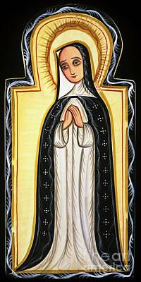 Painting - Nuestra Senora De La Soledad - Our Lady Of Solitude - Aosol by Br Arturo Olivas OFS