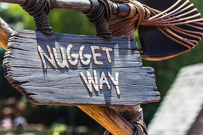 Photograph - Nugget Way by Nicholas Evans