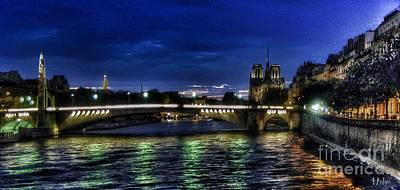 Paris Skyline Royalty-Free and Rights-Managed Images - Nuit Parisienne reloaded by Helge