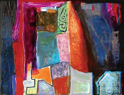 Painting - La Nuit by Diane Desrochers