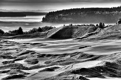 Photograph - Number 14 At Chambers Bay by David Patterson