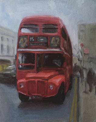 Painting - Number 15 To Trafalgar Square by Elizabeth Jose