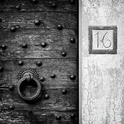 Traditional Doors Photograph - Number 16 by Dave Bowman