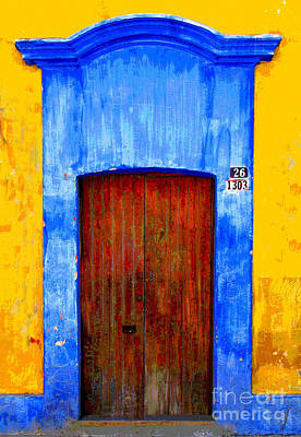Number 26 By Darian Day Art Print by Mexicolors Art Photography