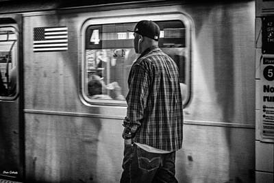 Photograph - Number 4 Train by Fran Gallogly
