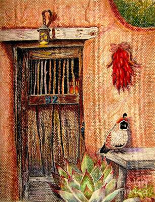 Number 82 Art Print by Marilyn Smith