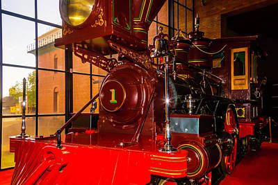 Number One C.p. Humtington Train Art Print by Garry Gay