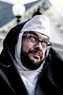 Photograph - Nun But The Brave by John Haldane