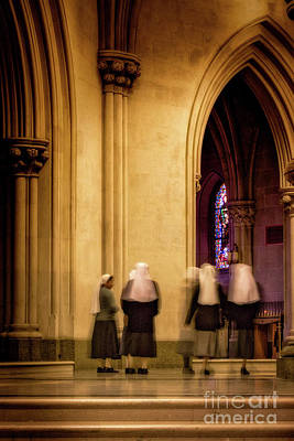 Photograph - Nuns On The Move by Jerry Fornarotto