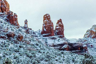 Photograph - Nuns Snow 09-024 by Scott McAllister