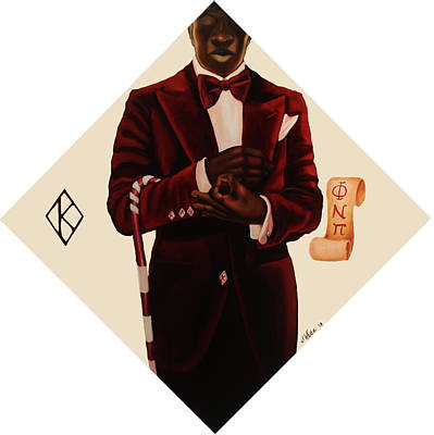 Landmarks Painting Royalty Free Images - Nupe Royalty-Free Image by Jerome White