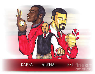 Hbcu Mixed Media - Nupes R' Us by Tu-Kwon Thomas