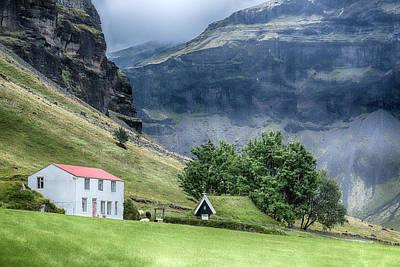 Turf Photograph - Nupsstadur - Iceland by Joana Kruse