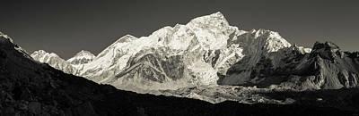 Photograph - Nuptse Peak On The Khumbu Glacier by Owen Weber