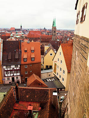Photograph - Nuremberg Cityscape by Steven Myers