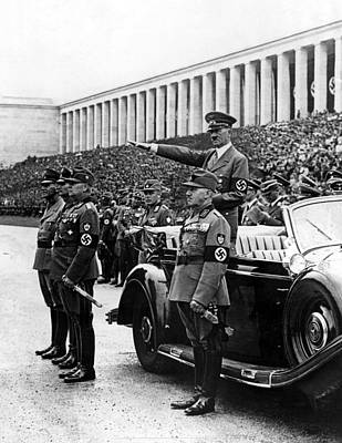 Hitler Photograph - Nuremberg, Germany--chancellor Hitler by Everett