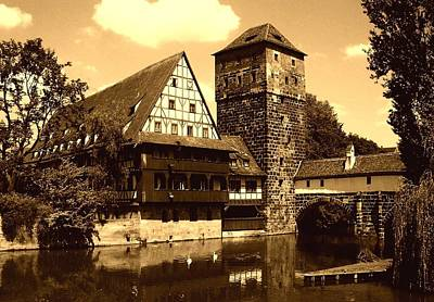 Photograph - Nuremberg by Juergen Weiss