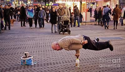 Photograph - Nurnberg Street Performer by Tatiana Travelways