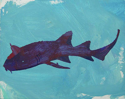 Painting - Nurse Shark by Candace Shrope