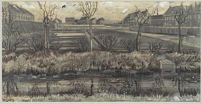 Gogh Painting - Nursery On Schenkweg by MotionAge Designs