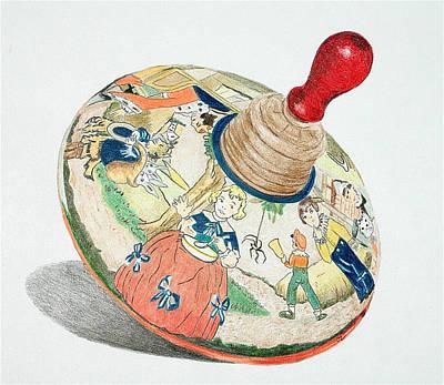 Nursery Rhyme Drawing - Nursery Rhyme Top by Glenda Zuckerman