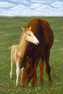 Painting - Nurturing Nature by Doug Kreuger