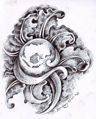 Hati Drawing - Nusantara by Mohammad Ramli