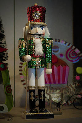 Nutcracker Christmas Deco Art Print
