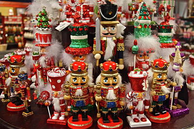 Photograph - Nutcracker Christmas Decorations by Denise Mazzocco