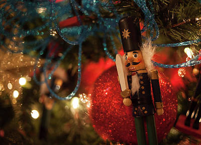 Photograph - Nutcracker Ornament by Shirley Radabaugh
