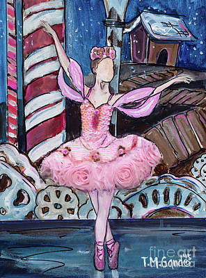 Painting - Nutcracker Sugar Plum Fairy by TM Gand