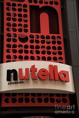 Photograph - Nutella Store by David Bearden