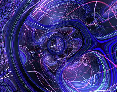 Bookmarks Digital Art - Nutron F-x 2 by G Adam Orosco