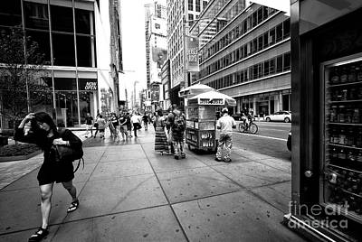 Photograph - Nuts 4 Nuts 42nd Street by John Rizzuto
