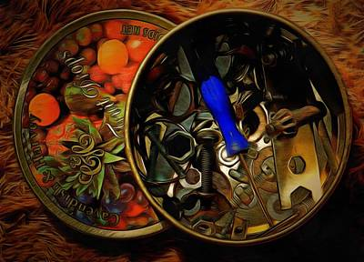 Photograph - Nuts And Bolts by Dorothy Berry-Lound