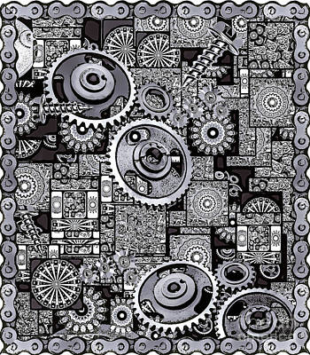 Nuts And Bolts Art Print
