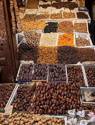 Dried Fruits Photograph - Nuts With Dates And Dried Fruit by Panoramic Images