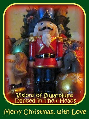 Photograph - Nutty Nutcracker by Lori Pessin Lafargue