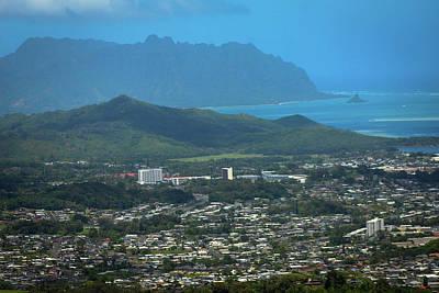 Photograph - Nuuanu Pali Lookout 2 by Carolyn Ricks