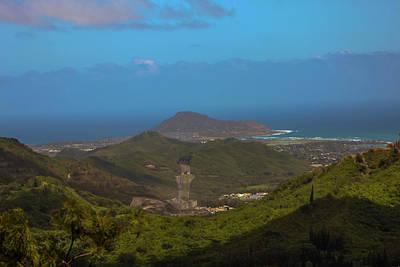 Photograph - Nuuanu Pali Lookout by Carolyn Ricks