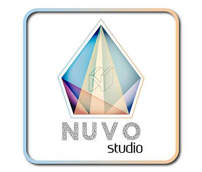 Nuvo Logo Art Print by Emre Yaprak