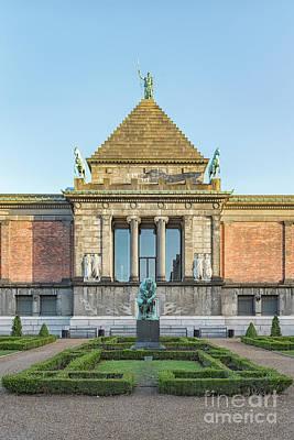 Photograph - Ny Carlsberg Glyptotek In Copenhagen by Antony McAulay