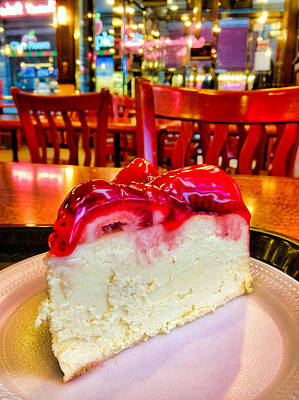 Photograph - Ny Cheesecake...in Ny by Robert Meyers-Lussier