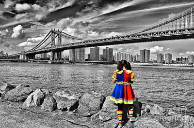 Ny Costume Party Art Print by Alessandro Giorgi Art Photography