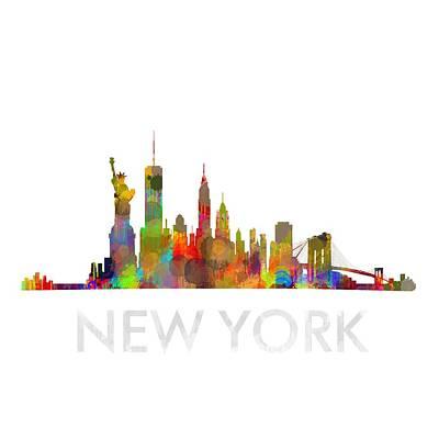 Ny-new York Skyline Hq  Original