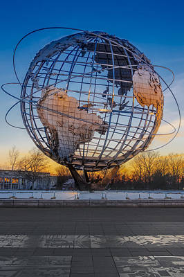 Iconic Photograph - Ny Worlds Fair Unisphere by Susan Candelario